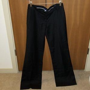NWT Black wool J.Crew Factory Suit Trouser Pants